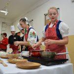 The Basic School, Gaštanová has visited   the Hotel Academy, Žilina